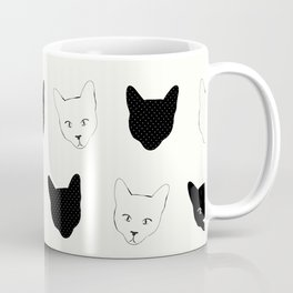 Cat Pattern Coffee Mug