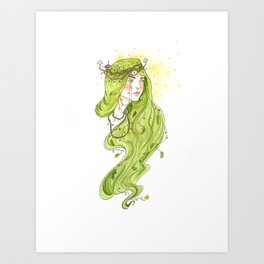 Fair Folk Mother  Art Print