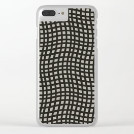 Curvilinear Clear iPhone Case