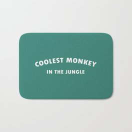 coolest monkey in the jungle or H&M killer Bath Mat