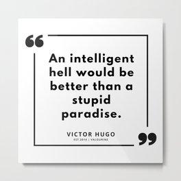 31 | Victor Hugo Quotes | 190830 Metal Print