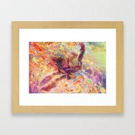 BNHA: Uraraka Ochaco + Midoriya Framed Art Print