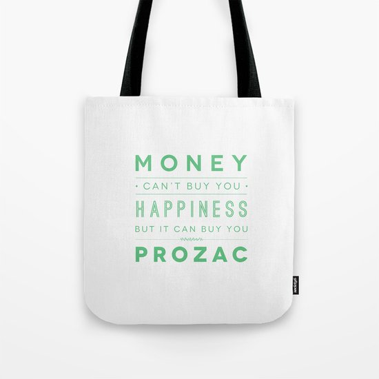 Prozac Nation Tote Bag