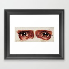 Suffered look Framed Art Print