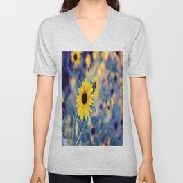 little suns Unisex V-Neck
