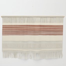 Band in Rust Wall Hanging