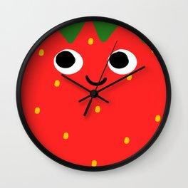Little Strawb Wall Clock