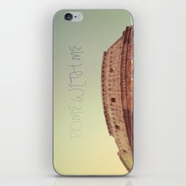 Rome With Me iPhone Skin