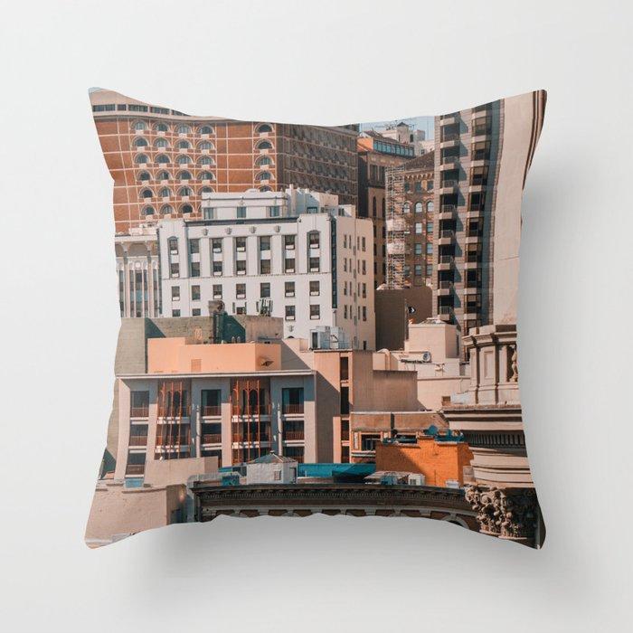 San Francisco architecture Throw Pillow