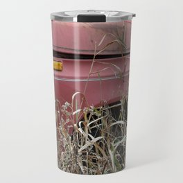 Old Truck in the Weeds Travel Mug