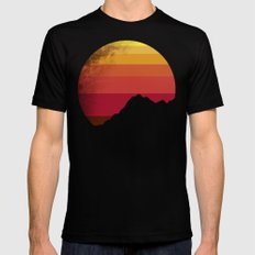 sandstorm LARGE Black Mens Fitted Tee