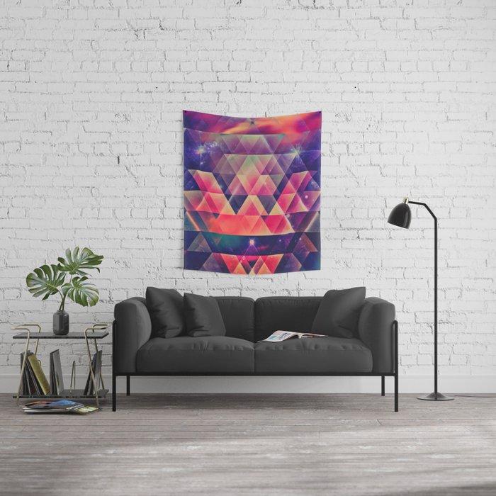 glyssyne pyrymyd Wall Tapestry
