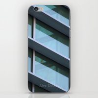 architecture iPhone & iPod Skins featuring Architecture by Alex Dodds