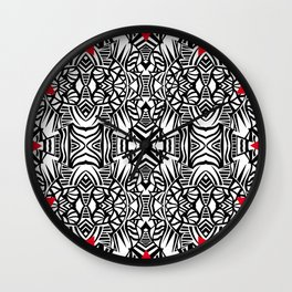 Tiki Totem Wall Clock