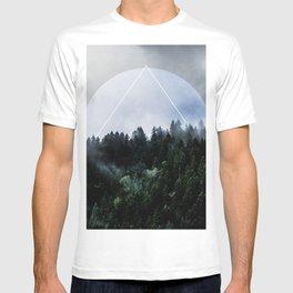 Foggy Woods 3X T-shirt