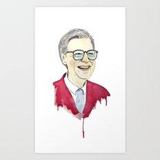 MR. Rogers Art Print