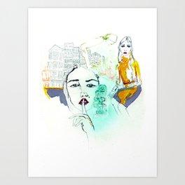 Rayuela Art Print