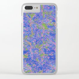 Shoots, Stems and Leaves abstract Clear iPhone Case