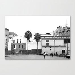 Plaça dels Àngels Canvas Print