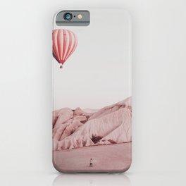 Desert Hot Air Balloon iPhone Case