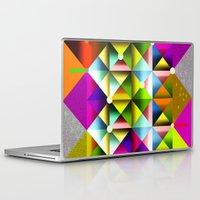 metallic Laptop & iPad Skins featuring Metallic by dogooder