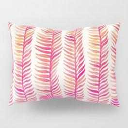 Pink Ombré Seaweed Pillow Sham