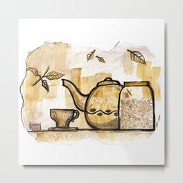 Afternoon Tea Metal Print