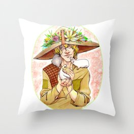 Dragon Age-A Friend to All Throw Pillow