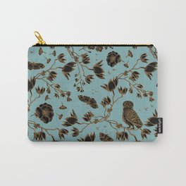 Orchid Owl Verdigris Carry-All Pouch