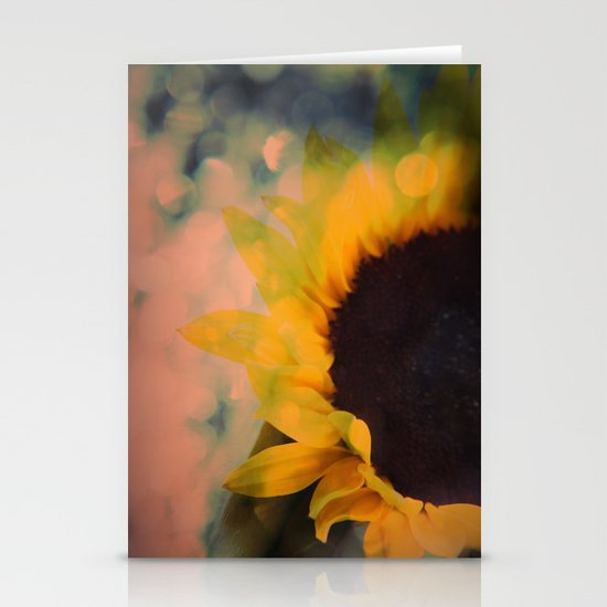 Sunflower II (mini series) Stationery Cards