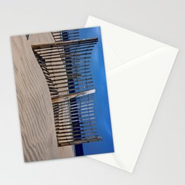 The Beach Fence Stationery Cards