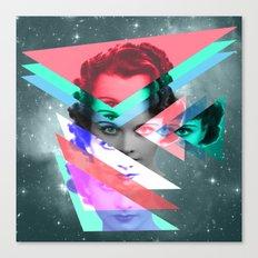 galactic implosion Canvas Print