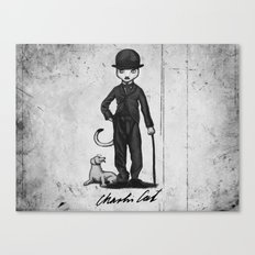 Charlie Cat Canvas Print