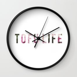 TOFU LIFE Wall Clock