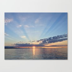 A Seattle Sunset Canvas Print