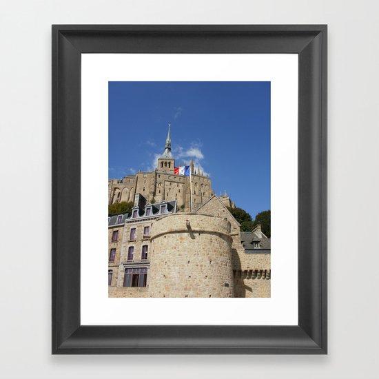 Mont St Michel Framed Art Print