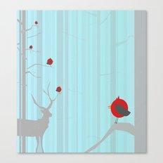 Winter Holidays Canvas Print