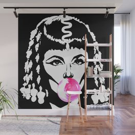 Cleopatra Bubble Gum Wall Mural