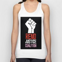 justice Tank Tops featuring Justice by Marvelous Insanity