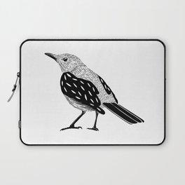 Black bird Laptop Sleeve