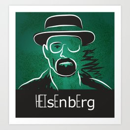 Breaking Bad Heisenberg  Art Print