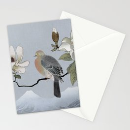 Mourning Dove And Magnolia Stationery Cards