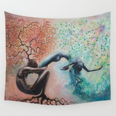 Organic Growth Wall Tapestry