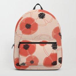 Poppy Pattern MT Backpack