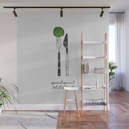 Sprout Sprout, Vegan, Vegetarian Wall Mural