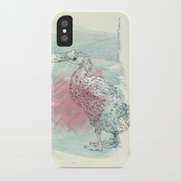 duck iPhone & iPod Cases featuring duck by Sabine Israel