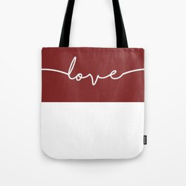 Love You - Red Edition Tote Bag
