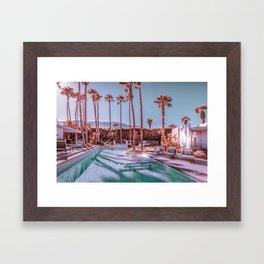 2262 Mid-Century Modern Stanbridge Estate Palm Springs Framed Art Print