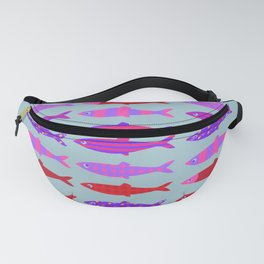 Colorful fish school pattern Fanny Pack