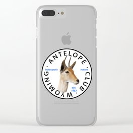 Antelope Club Items Clear iPhone Case